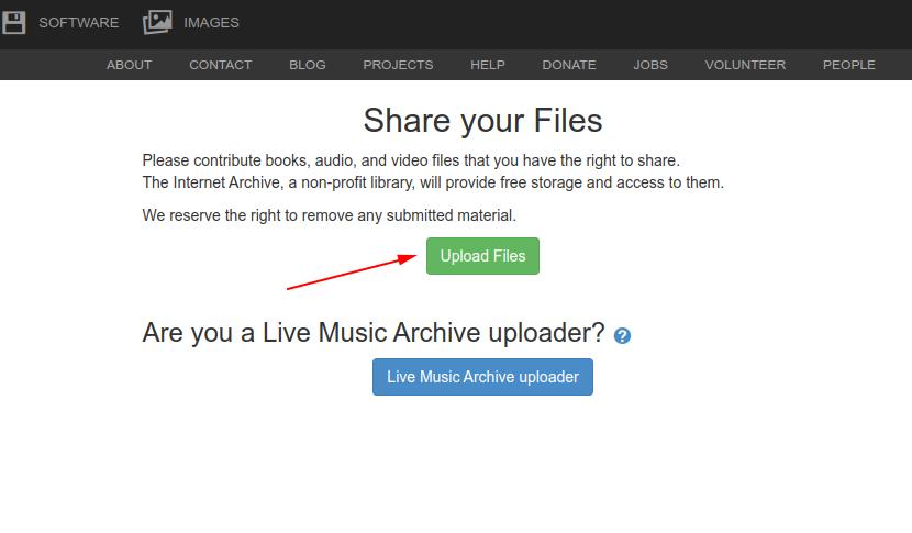 Stocker mes épisodes gratuitement sur The Internet Archive (archive.org) - Aide podCloud